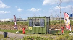 Edinburgh 10ft Container Sales