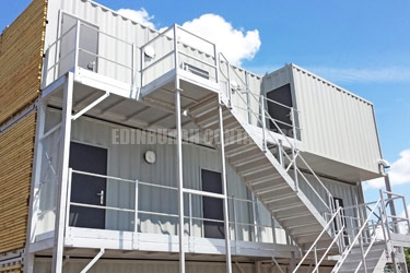 Commonwealth Games Broadcast Studio Containers