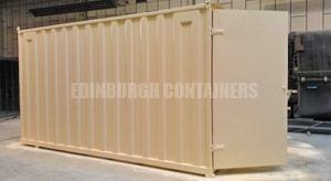 16ft Custom Containers Edinburgh