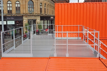 Commonwealth Games Retail Containers