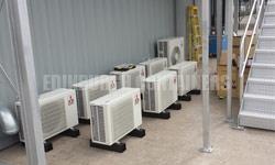 Container Air Conditioning Options Edinburgh