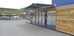 Container Awning Options Edinburgh