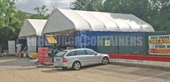 Container Canopies Options Edinburgh