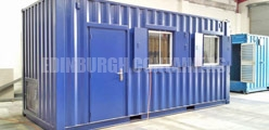 Container Windows Edinburgh