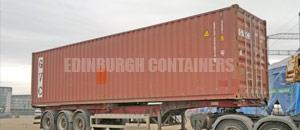 High Cube Specialised Container Edinburgh