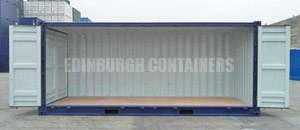 Side Opening Specialised Container Edinburgh