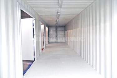 Tunnel Container Cement Mixer Storage
